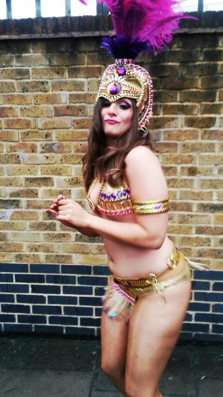 Dancing at Notting Hill Carnival
