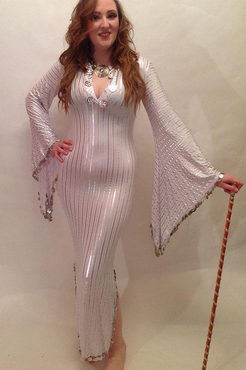 Striped Saiidi Dresses - assorted colours - UK 12