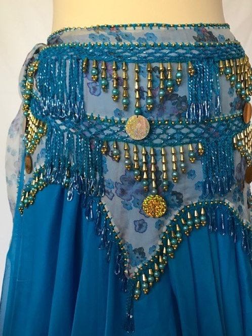 Ziggy Belt - Blue