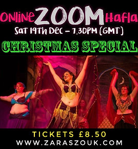 Online Zoom Hafla December 19th