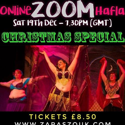 Online Zoom Hafla December 19th