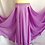 Thumbnail: SATIN SKIRT DOUBLE LAYER, DOUBLE SPLIT - LILAC