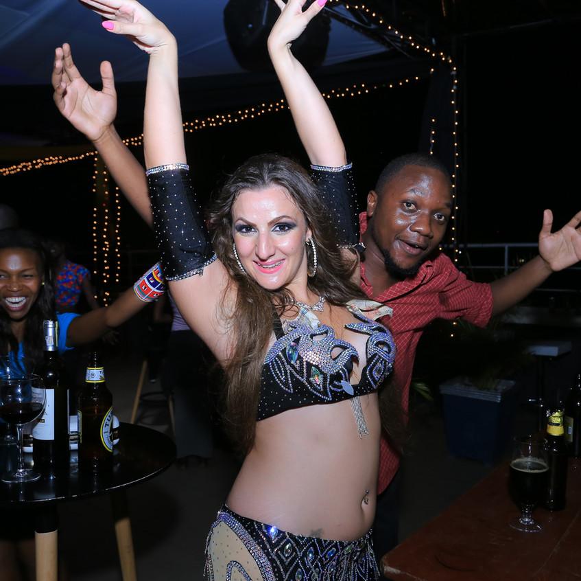 Bellydancer Kenya Africa