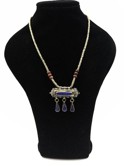 Cute Lapis Kuchi roll necklace