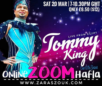 Online Zoom Hafla MAR 20th