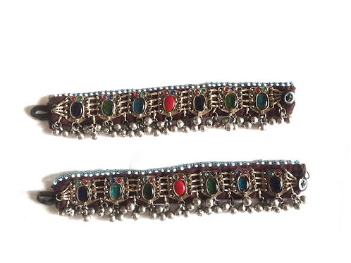 PAIR OF ANKLETS - JUMBO JEWELS