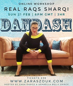 Dandash Real Raqs Sharqi Workshop