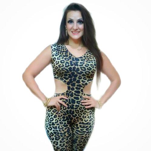 Leopard Print Practice Suits