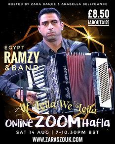 Online Zoom Hafla 14th AUG