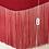 Thumbnail: Fringe Velvet Belt - Pink
