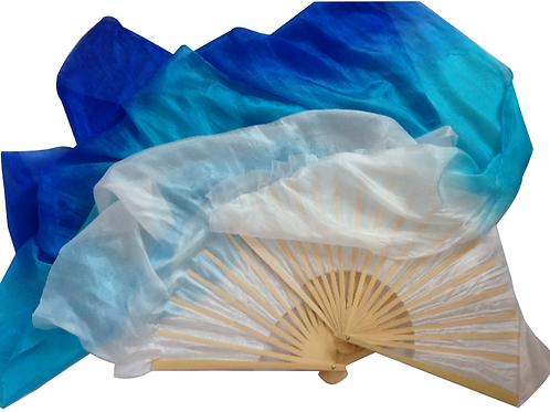 FAN VEILS OCEAN BLUES 1.2M