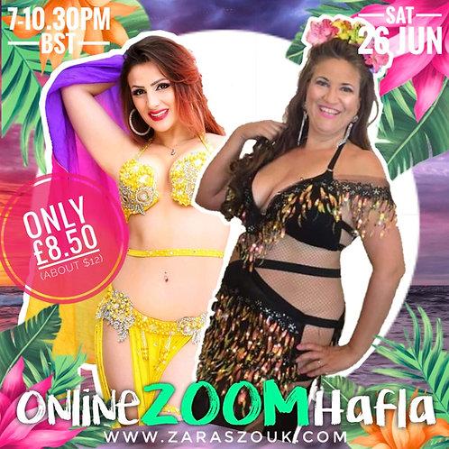 Online Zoom Hafla JUNE 26TH
