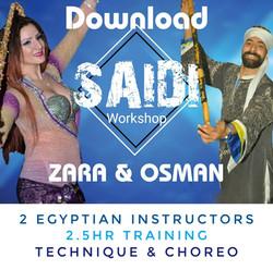Stick Workshop with Osman and Zara