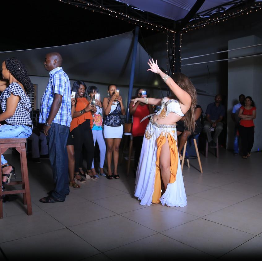 Belly dancer Kenya Africa