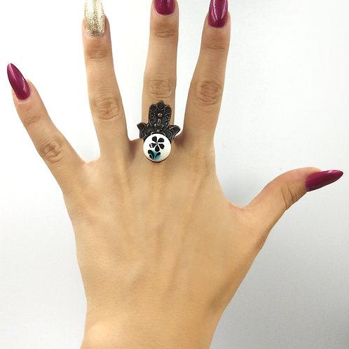 Turkish flower ring