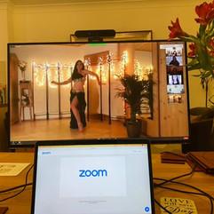 Online Zoom Hafla