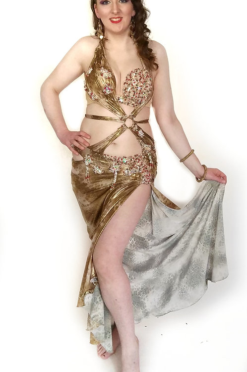 Animal Goddess  Gold