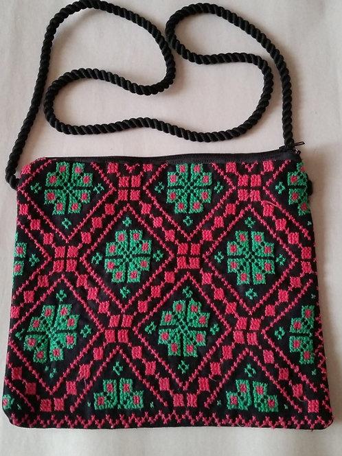 Bedouin Embroidered Zip top Bag