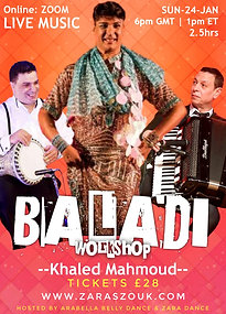 KHALED MAHMOUD BALADI WORKSHOP