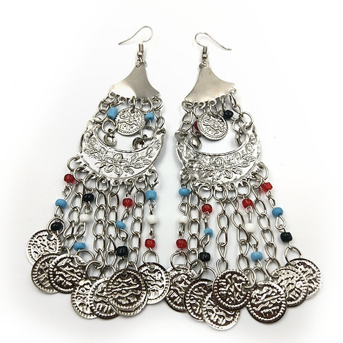 Stunning Silver Dangle Earrings
