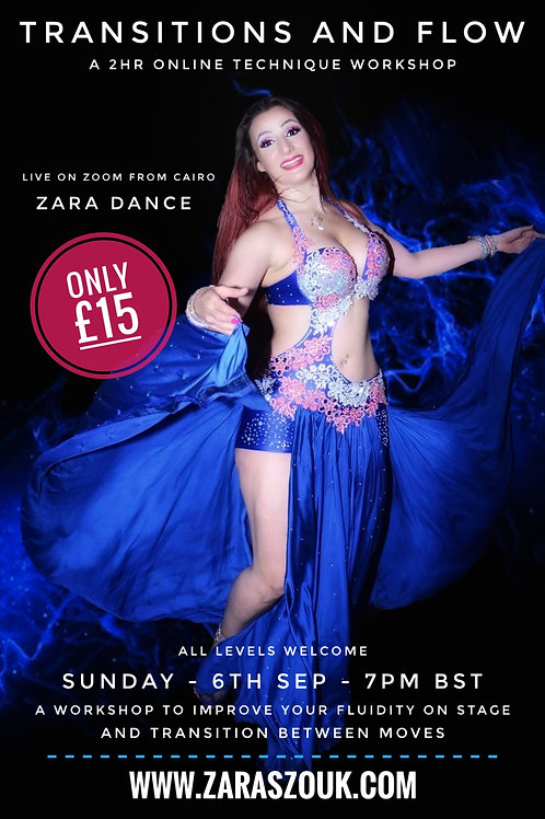 Transitions and Flow Workshop Zara Dance 6th Sept