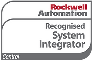 Image of a Rockwell Automation Recognised System Integrator logo