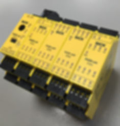 image of a sick safety relay module