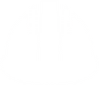 image of an icon representing a safety hard hat worn in an industrial environment