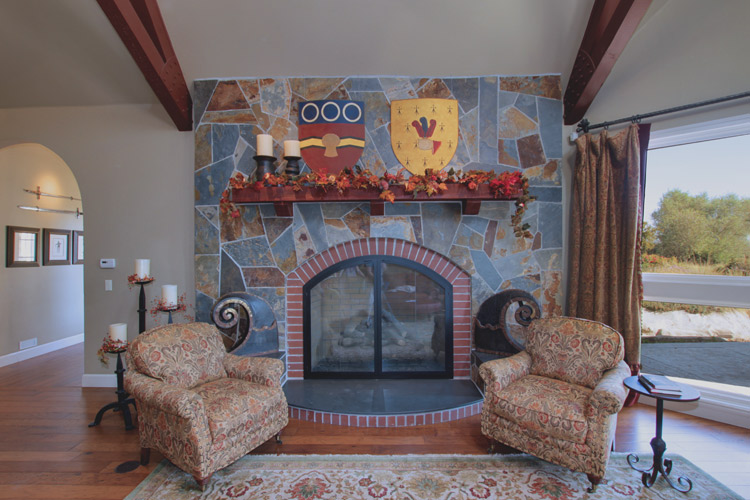 Modern Tudor in Rural Yolo County