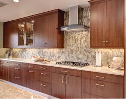 Modern Mahogany Kitchen