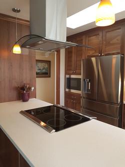 Walnut Mid-Century Modern Kitchen