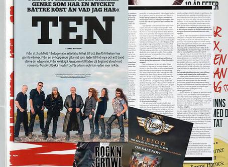 GARY HUGHES ON SWEDEN ROCK MAGAZINE!