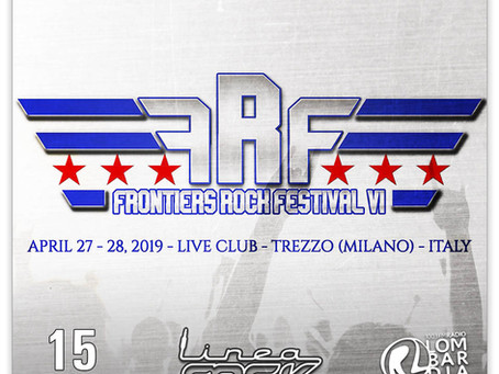 TEN TO APPEAR ON FRONTIERS ROCK FESTIVAL VI!