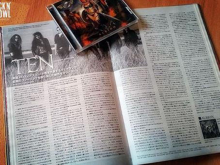 BRAND NEW TEN INTERVIEW ON BURRN MAGAZINE (JAPAN)!