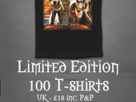 LIMITED EDITION T-SHIRTS PRE-ORDER!