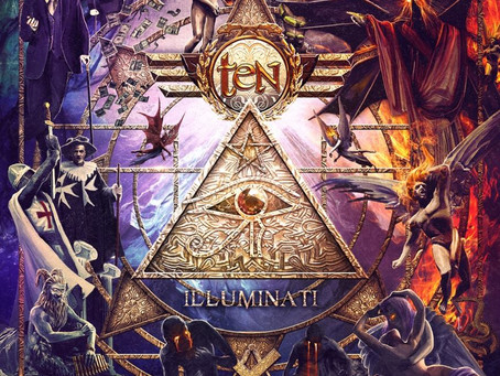 "TEN ANNOUNCES NEW STUDIO ALBUM ENTITLED ""ILLUMINATI""!"