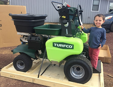 Weed Spraying, Turfco, Fertilizing