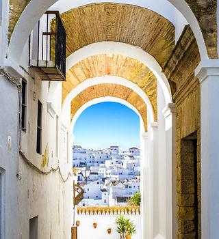 Village blanc andalou