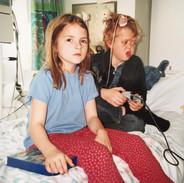 Hannah in hospital - again!
