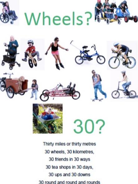 Wheels 30 Challenge