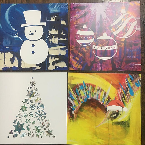 6 Christmas Cards -  for £5