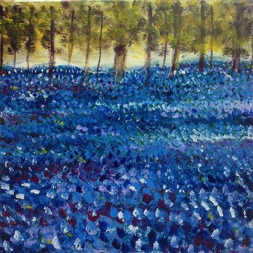 Bluebell Woods giclee print
