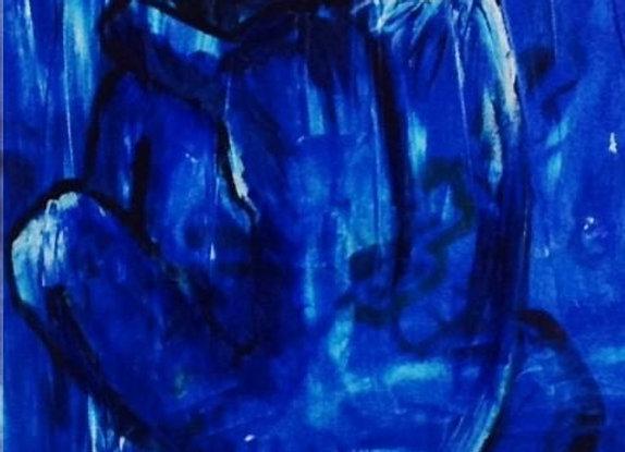 Blue Nude Cards
