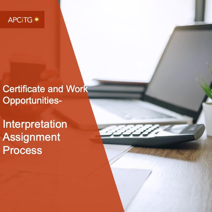 CEWO 3 Interpretation Assignment Processes