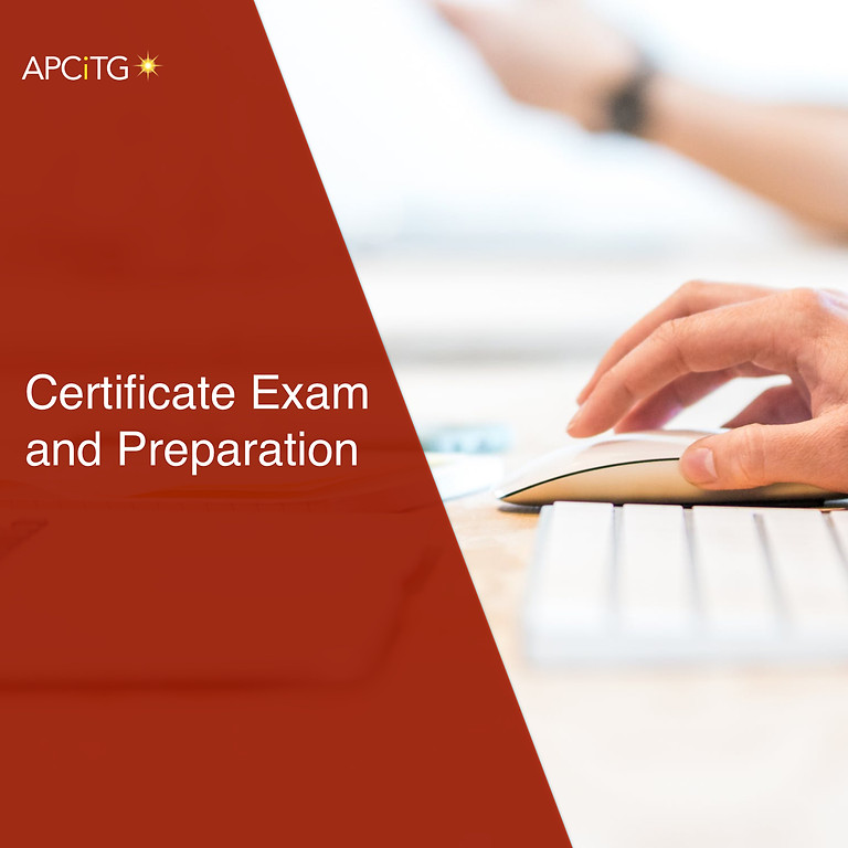 Certificate Exam and Preparation