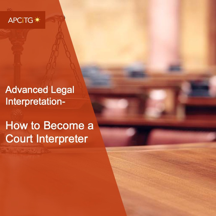ALI 16 How to Become a Court Interpreter