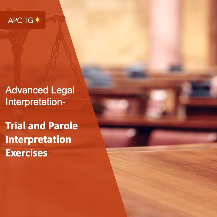 ALI 15 Trial and Parole Interpretation Exercises