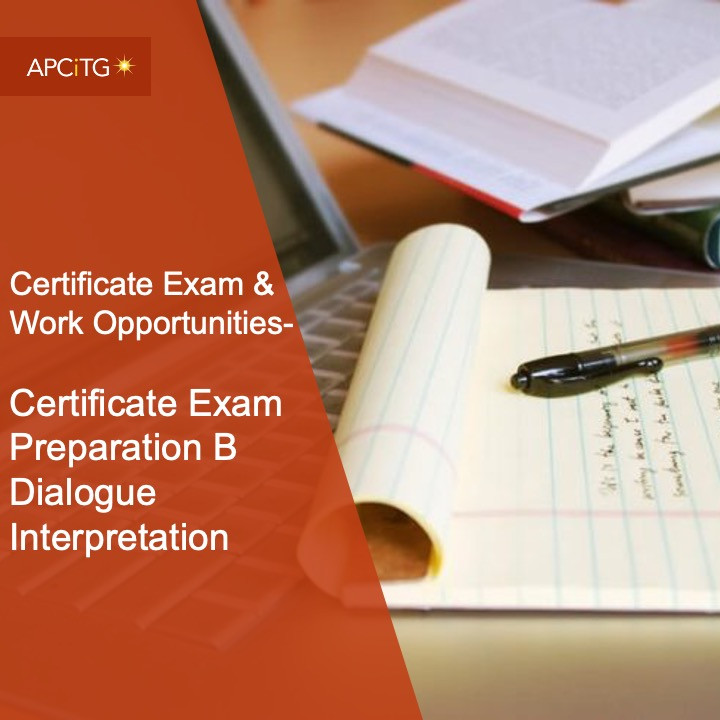 CEWO 2 Certificate Exam Preparation B Dialogue Interpretation