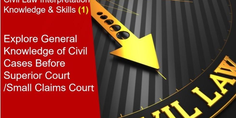 Explore General Knowledge of Civil Cases (1)