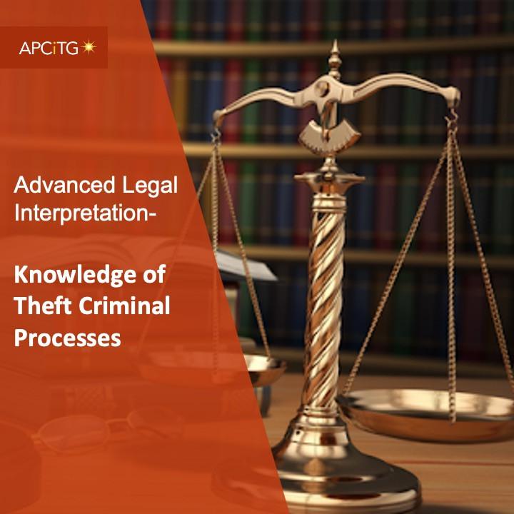 ALI 10 Knowledge of Theft Criminal Processes